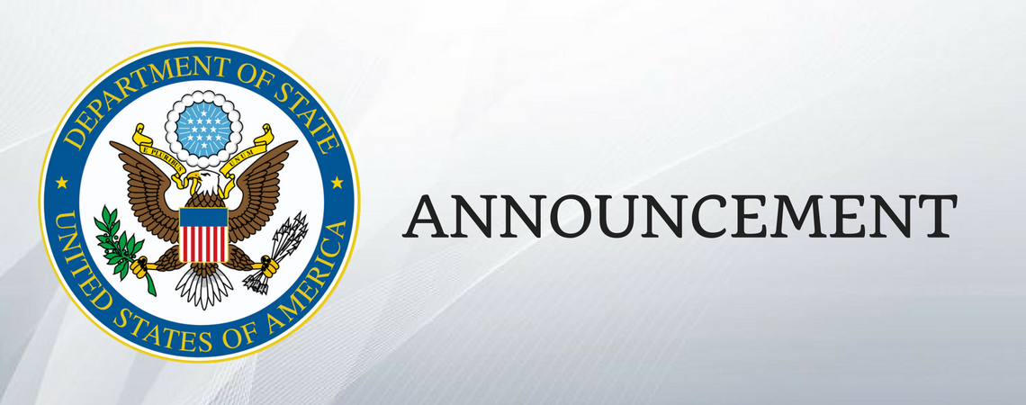Embassy Announcement.