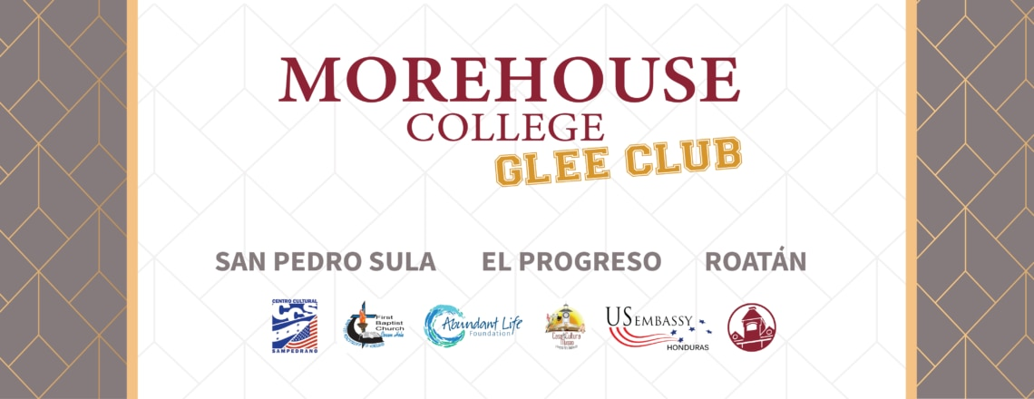 Morehouse College Glee Club from Atlanta, Georgia in Honduras