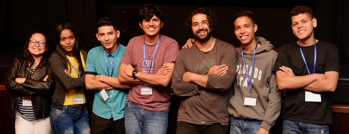 Jóvenes hondureños presentan iniciativa ¡Tu Historia Transforma!