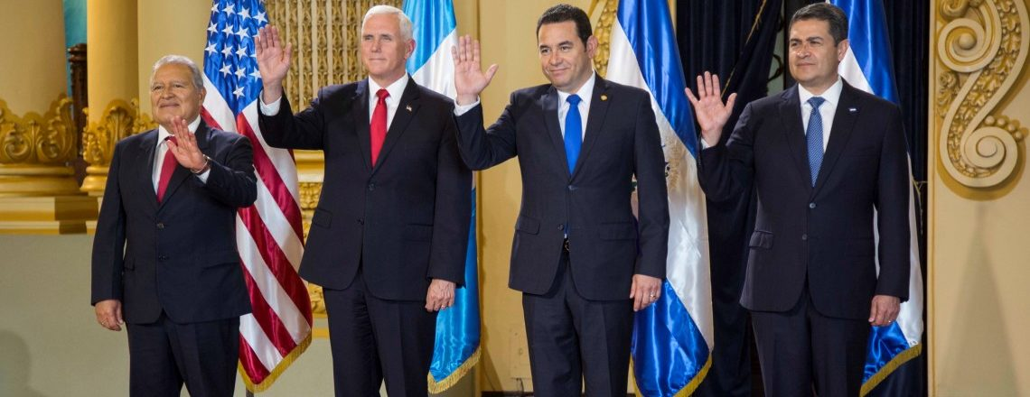 Remarks by Vice President Pence and Central American Presidents at Meeting in Guatemala